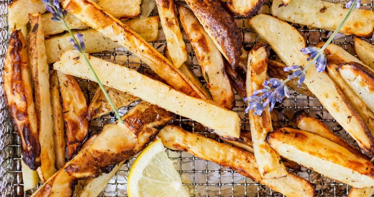 Lemon Lavender French Fries