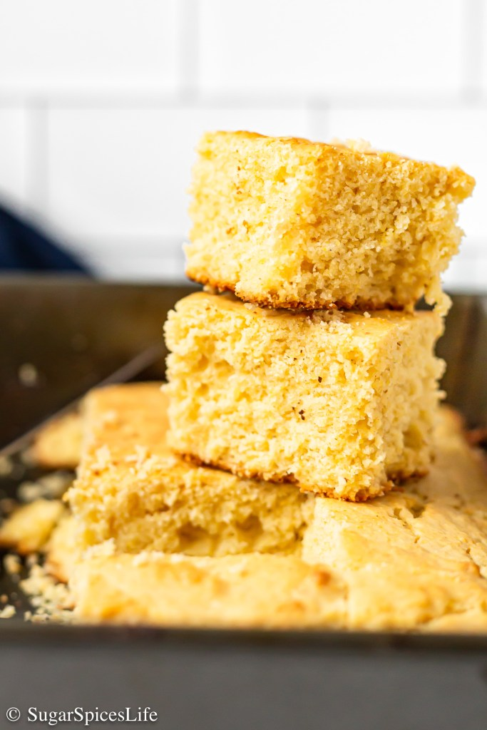 Perfectly sweetened, lightly browned, deliciously moist, amazing cornbread. This Best Cornbread recipe is my favorite cornbread!