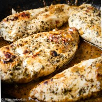 Tender chicken breasts in a savory sun-dried tomato and pesto sauce. This Sous Vide Tomato Pesto Chicken takes minimal effort to make, and will be sure to impress!