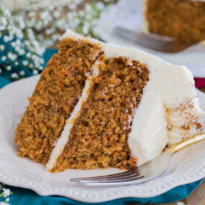 The Best Carrot Cake Recipe With Video Sugar Spun Run