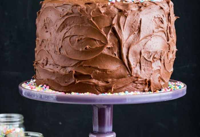 The Best Birthday Cake Recipe Sugar Spun Run