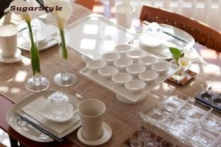 雛祭りのおもてなしのテーブル
