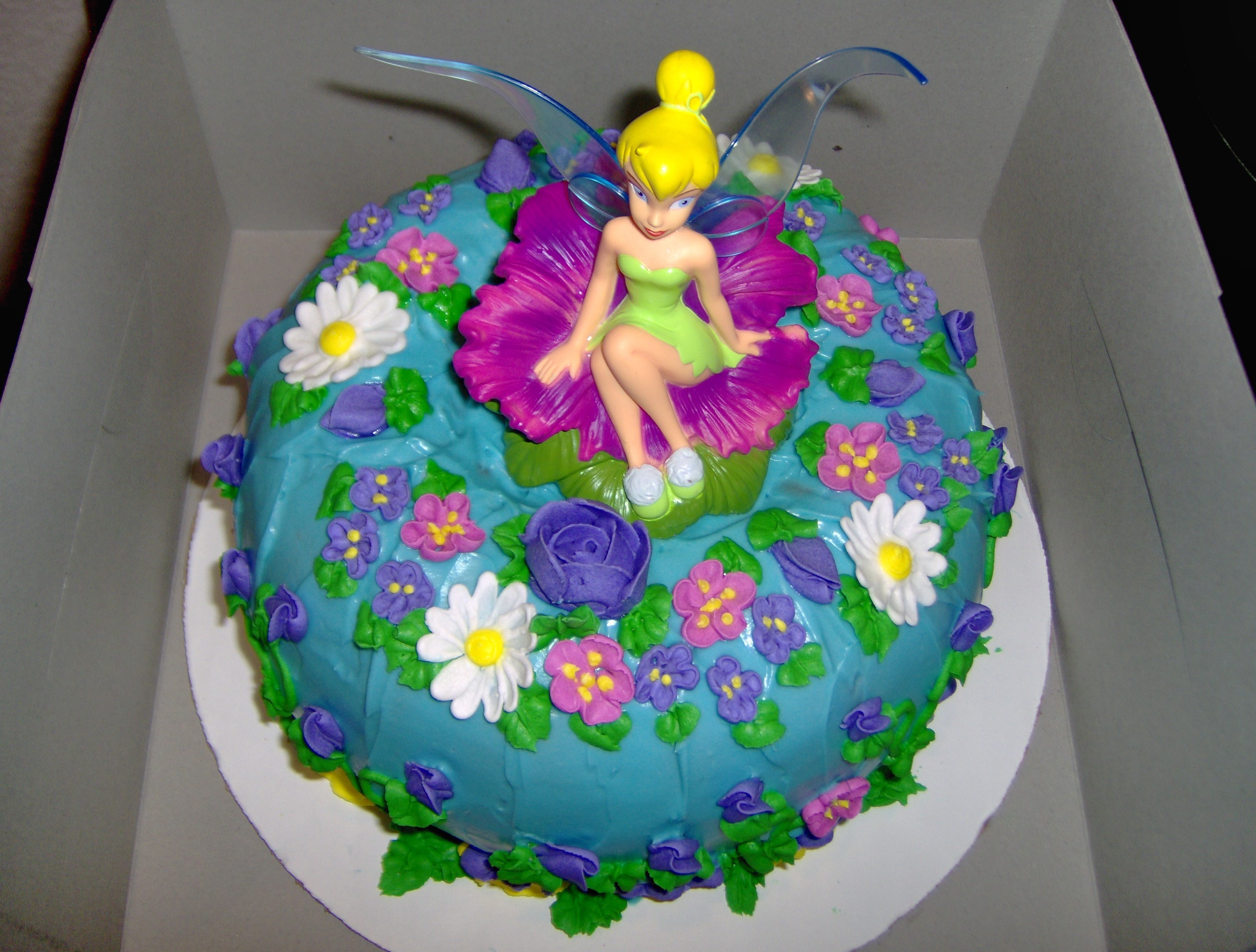 Pin 24 Tinkerbell Fairy Cake Cupcake Toppers Ebay Cake On