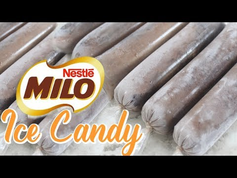MILO ICE CANDY | HOW TO MAKE ICE CANDY TAGALOG
