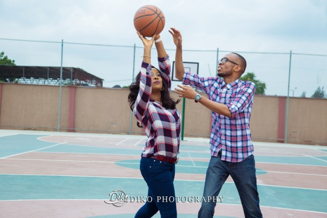Pamela and Anayo's simple yet classy pre-wedding session | Diko Photography