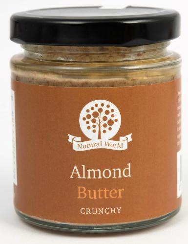 Nutural World Almond butter - Crunchy