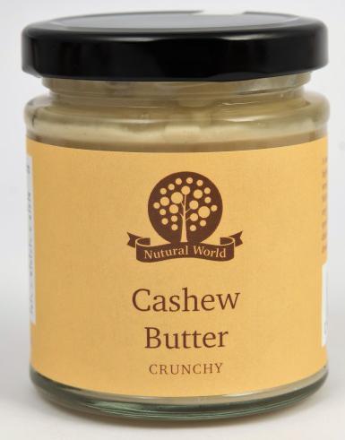 Nutural World Cashew Butter - Crunchy
