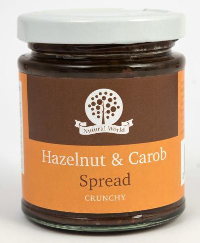 Nutural World Hazelnut and Carob spread - Crunchy
