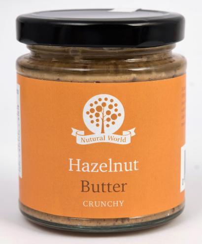 Nutural World Hazelnut butter - Crunchy