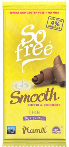 So free Smooth Cocoa and Coconut Thin by Plamil