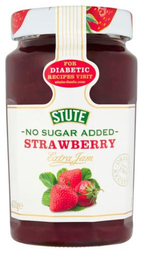 Stute No Sugar Added Strawberry Jam