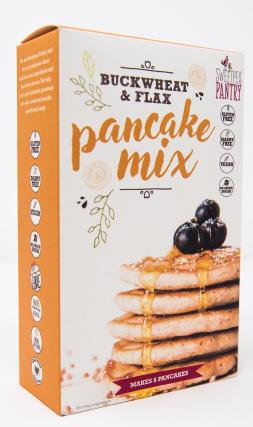 Sweetpea Pantry Pancake Mix with buckwheat, flax and quinoa