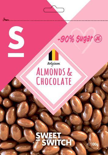 SWEET-SWITCH Almonds & Chocolates