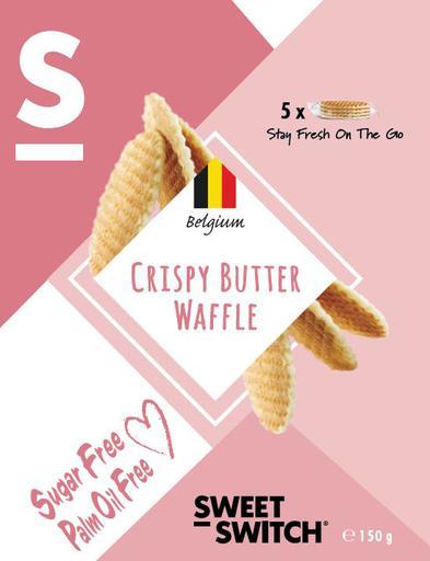 SWEET-SWITCH Crispy Butter Waffle