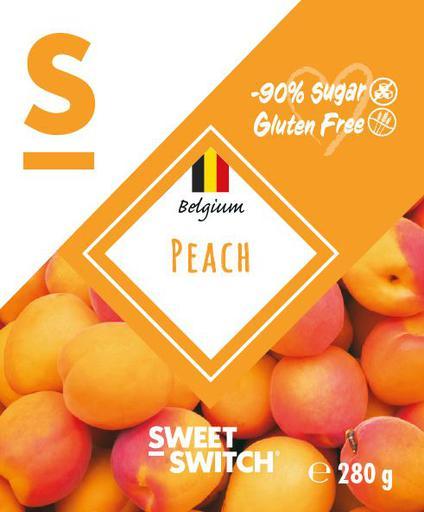 SWEET-SWITCH Peach Fruit Spread