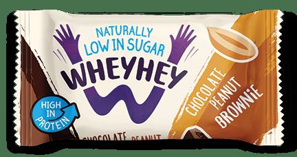 Wheyhey Chocolate Peanut Brownie 40g