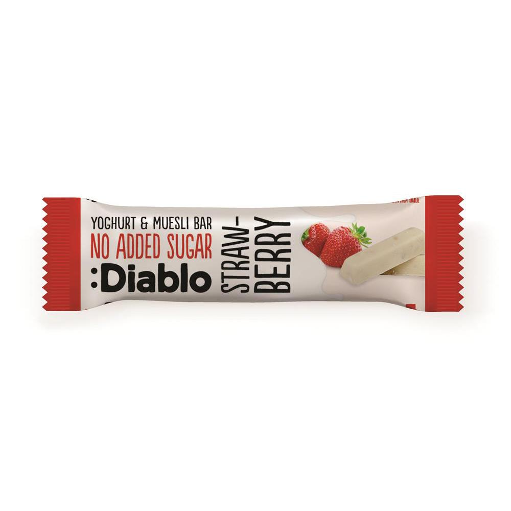 :Diablo - Yoghurt & Museli Bar - Strawberry