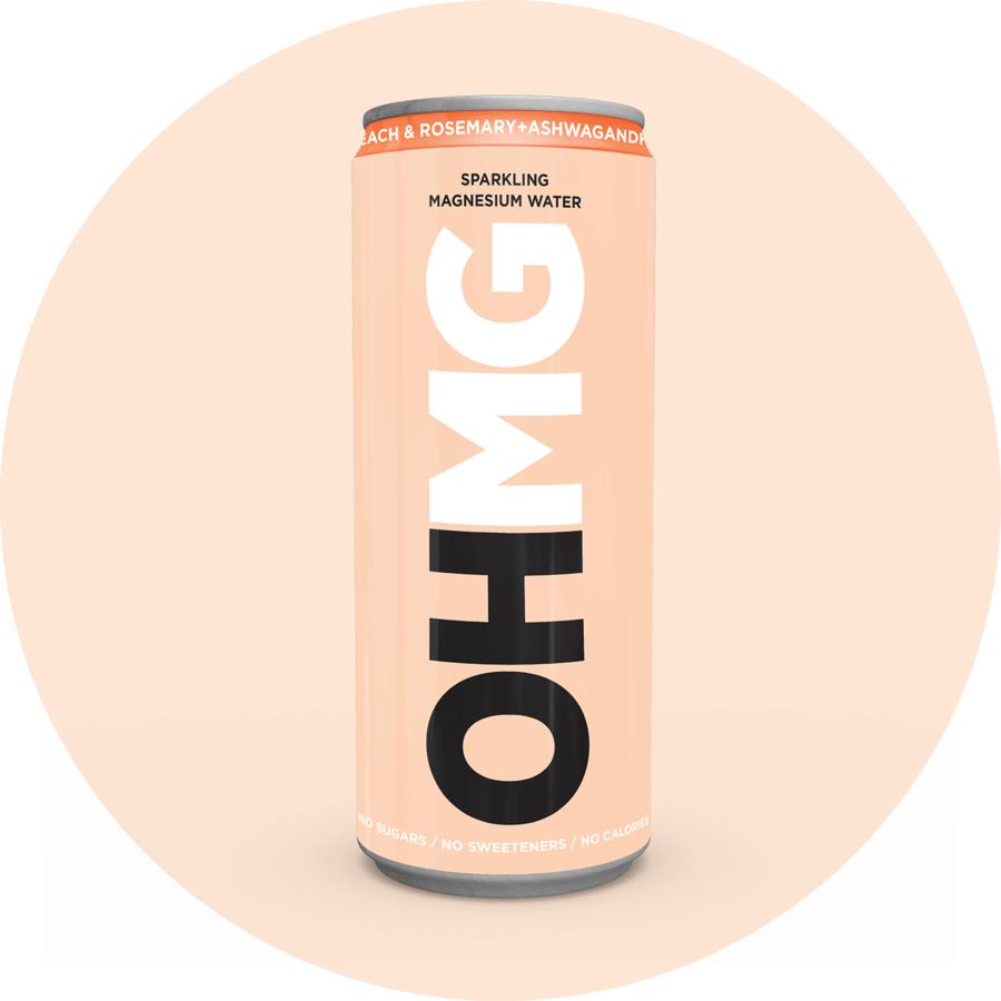 OHMG Drinks - Peach & Rosemary + Ashwagandha