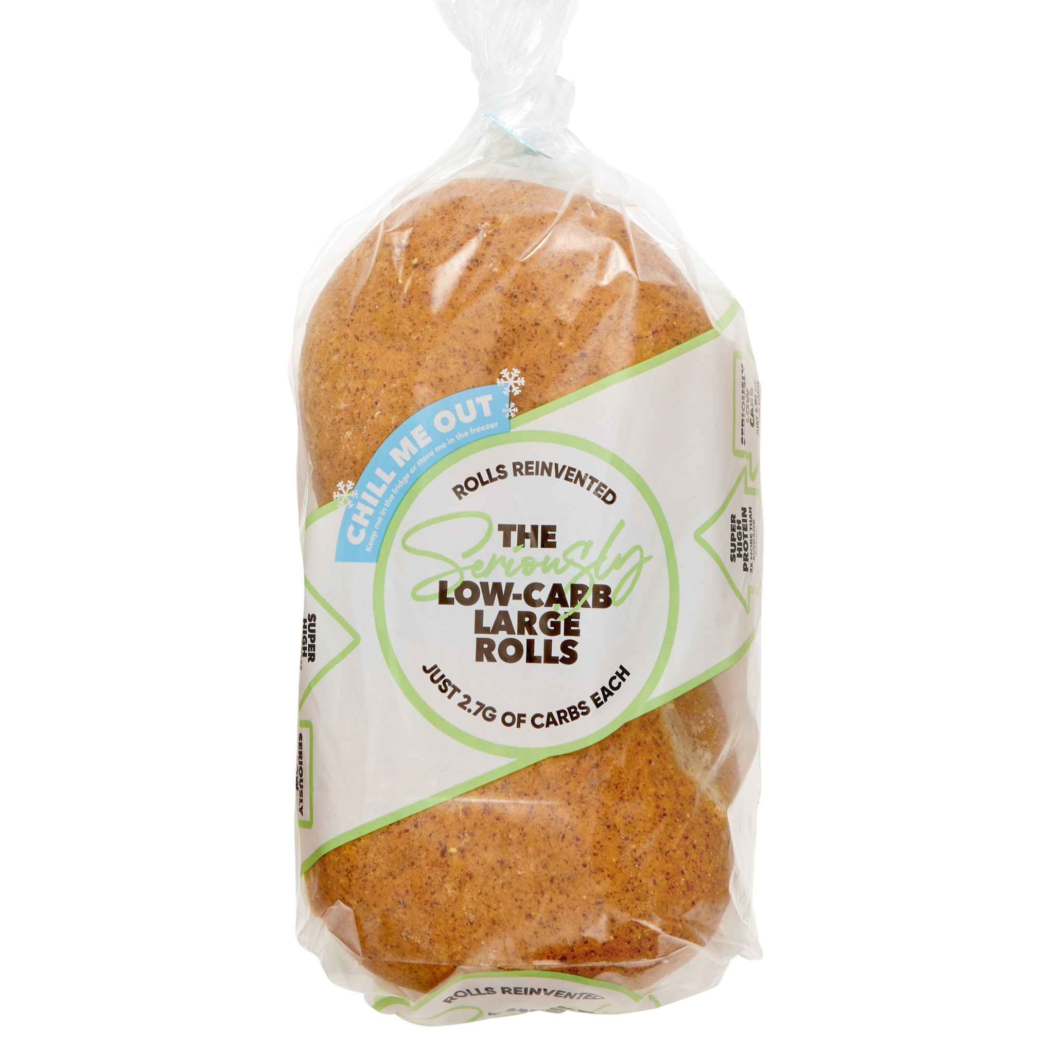 Seriously Low Carb Food - Seriously Low Carb Large Rolls