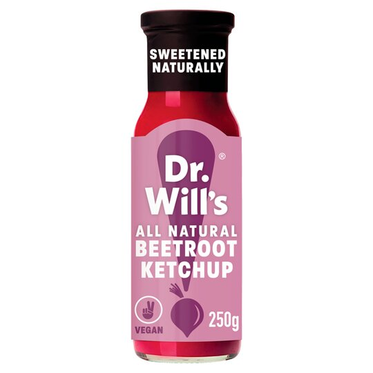 Dr Will's Beetroot Ketchup