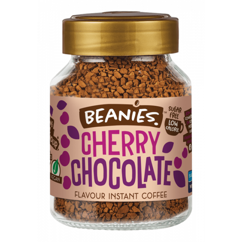 Beanies - Cherry Chocolate Flavour Instant Coffee