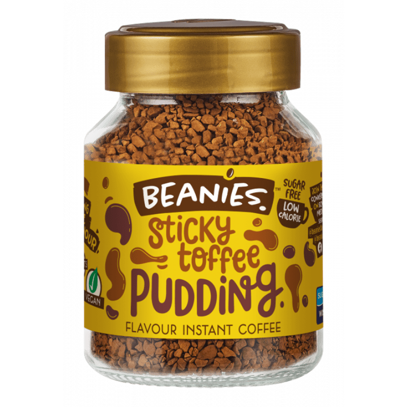 Beanies - Sticky Toffee Pudding Flavoured Coffee