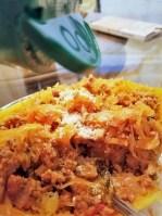Spaghetti Squash Boat recipes