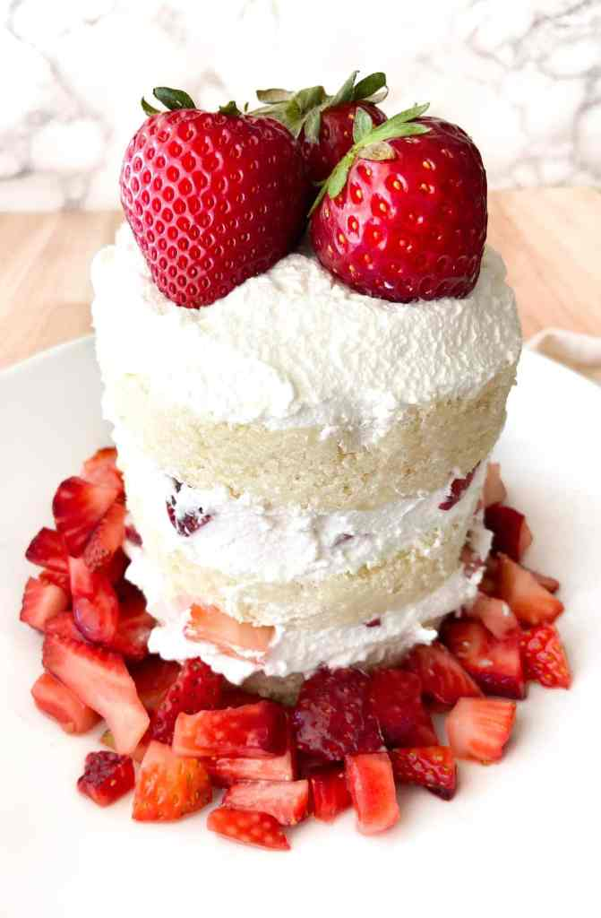 Strawberry Shortcake for 2