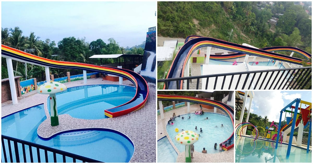 Tubod Bukid Resort has the LONGEST pool slide in Cebu