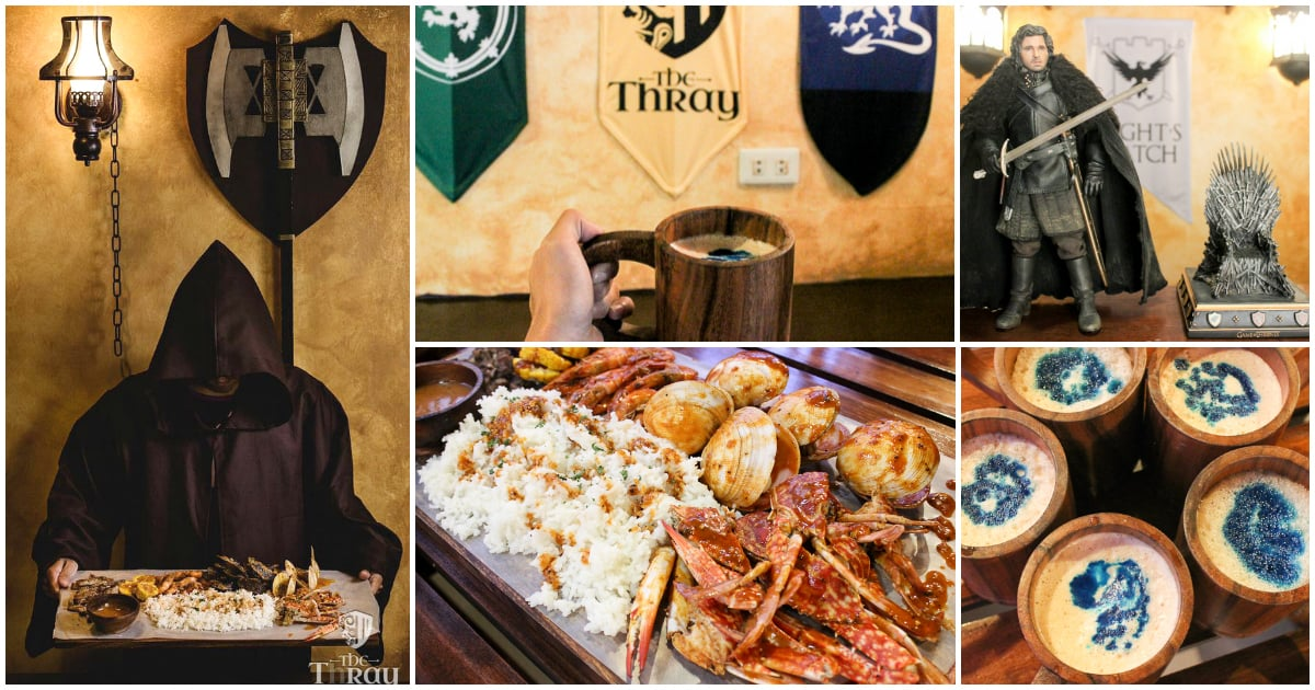 The Thray: Game of Thrones-inspired Restaurant in Cebu