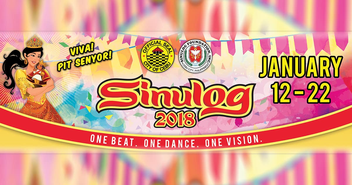 OFFICIAL Cebu SINULOG 2018 Schedule of Events & Activities