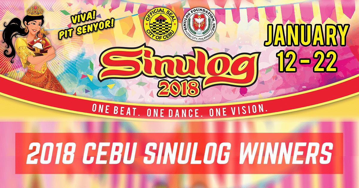 OFFICIAL Cebu Sinulog 2018 Winners: The Complete List