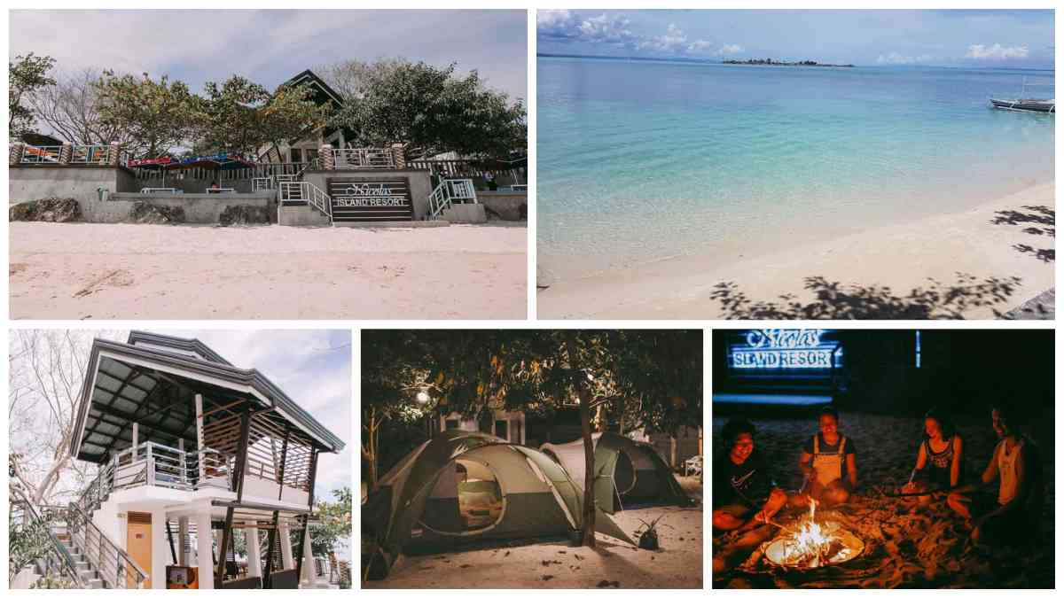 Beach getaway at Nicolas Island Resort in Caubian Island