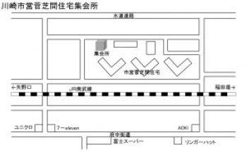 芝間集会所MAP