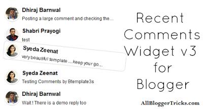 Cara Membuat Widget Recent Comments dengan Animasi Melayang