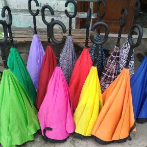 Payung Terbalik Gagang C – Kazbrella Murah