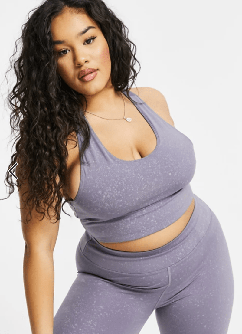 ASOS Curve Brand - Plus Size Activewear - Suger Coat It