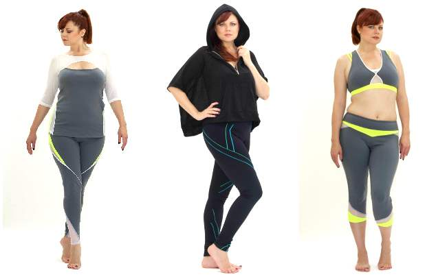 plus size active wear cult of California 001