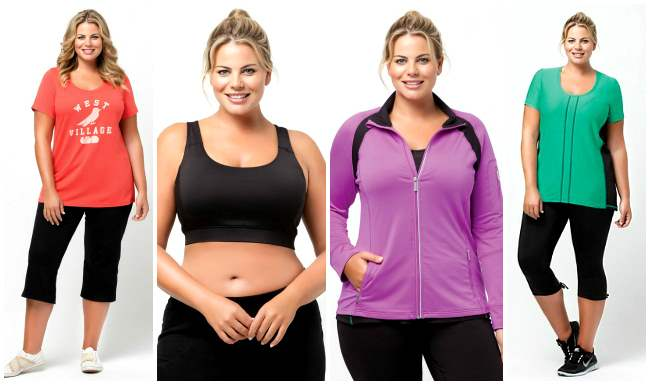 plus size active wear virtu 001