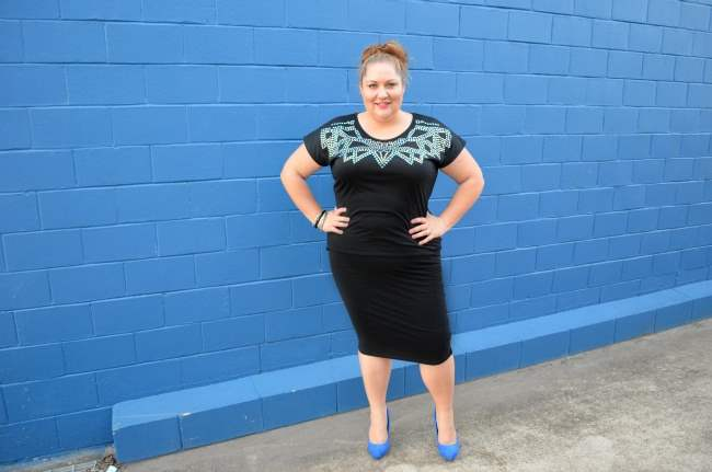 plus size dinner with the girls outfit 002