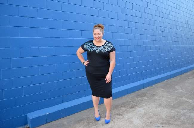 plus size dinner with the girls outfit 008
