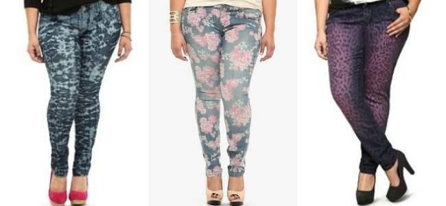 Torrid patterned pants 2013