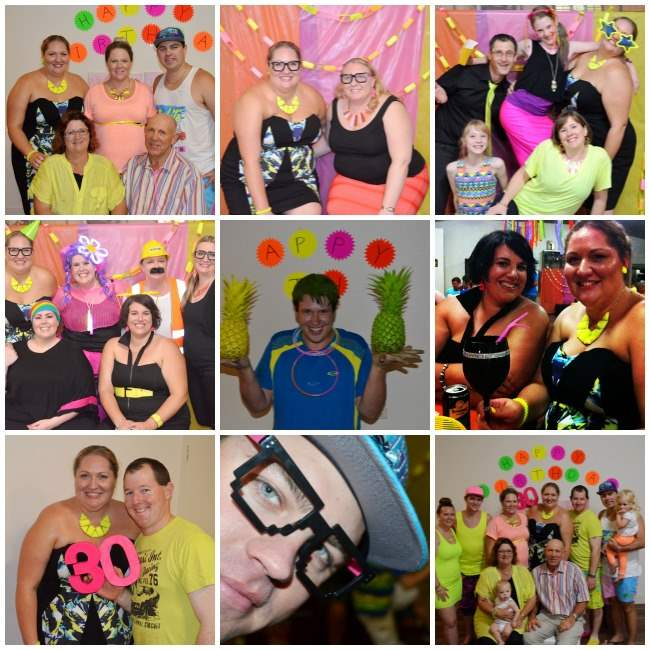 neon party Collage 003