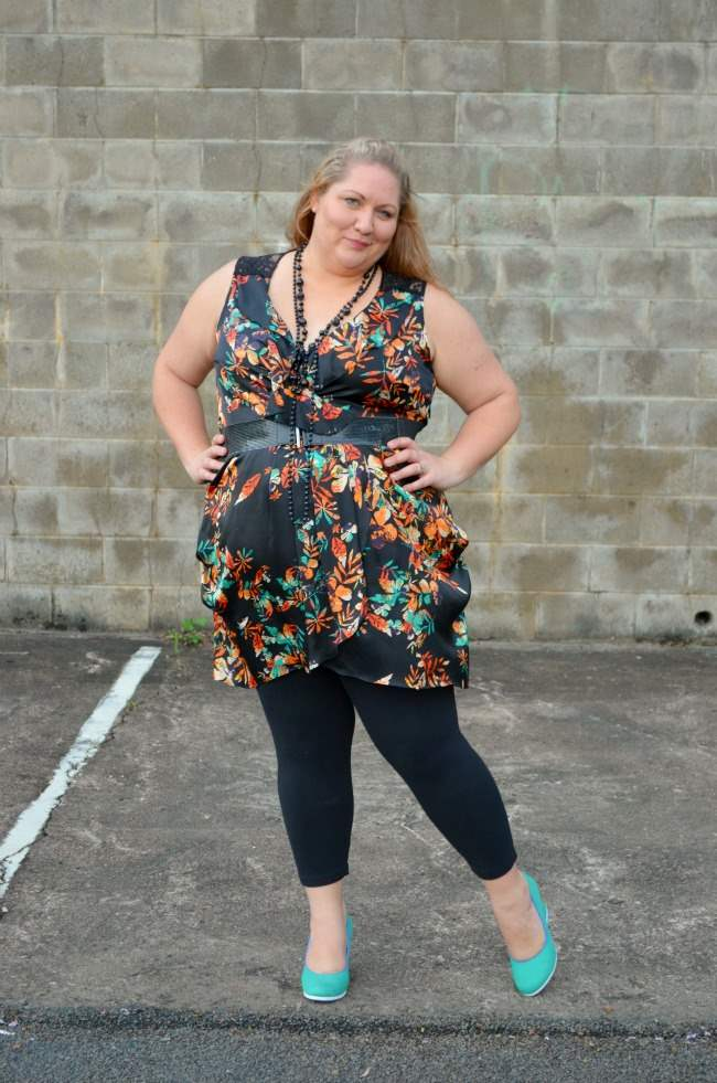plus size city chic tunic and leggings 006