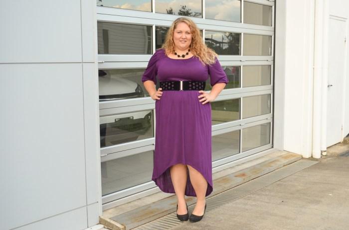 plus size SWAK dress with belt-6