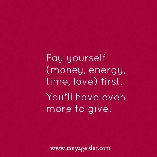 Pay Yourself First {Confident You}