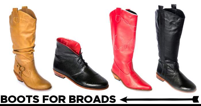 Boot for Broads wide fit boots