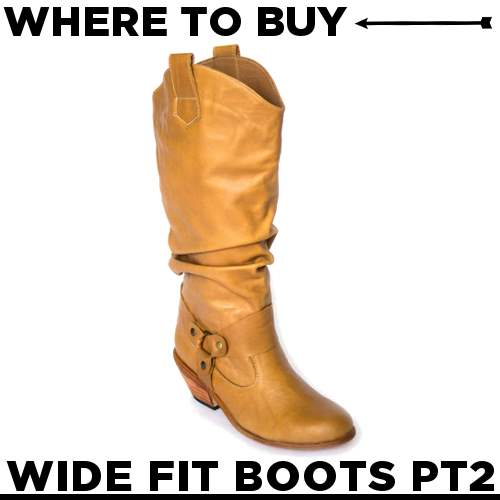 Where to Buy Wide Calf Boots {Part 2}