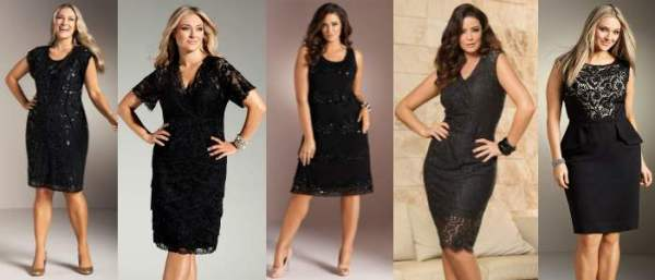 little black dress modern curve