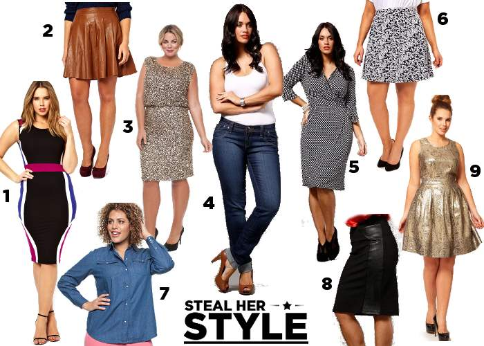 Girl with Curves - Steal Her Style Shopping